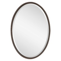 Зеркало Sherise Bronze Oval Mirror