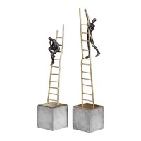 Скульптуры Ladder Climb Figurines, S/2