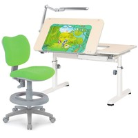 Комплект RIF 3: Парта-трансформер R6-XS и Кресло TCT Nanotec KIDS CHAIR + Cветильник TL11S